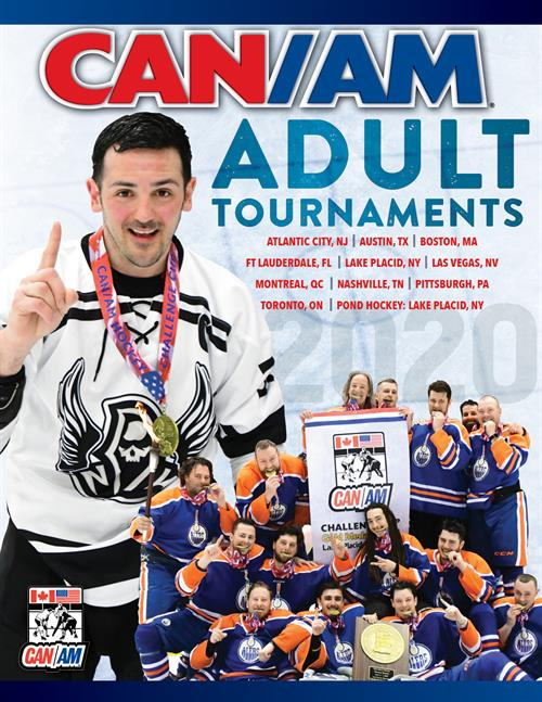 CANAM Hockey 2020 Adult Tournament Brochure