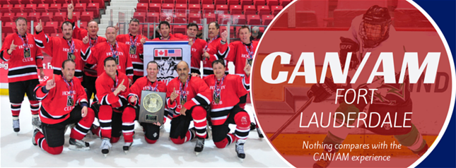 Can Am Adult Hockey Tournament Fort Lauderdale Florida