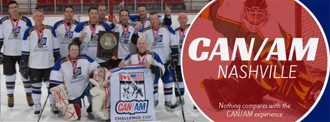 Can Am Adult Hockey Tournament Nashville Tennessee