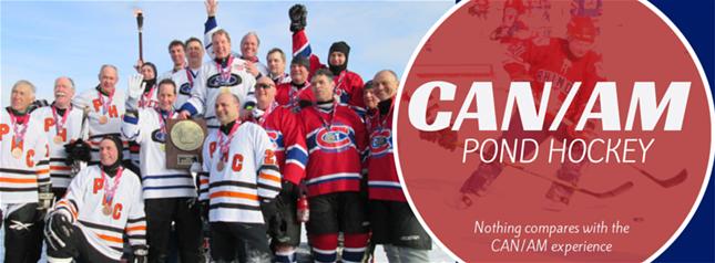 Can Am Pond Hockey Tournament Lake Placid Ny